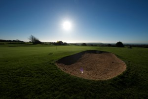 Hollandbush golf course in Lesmahagow