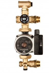 Polypipe's new pre-assembled brass pump pack