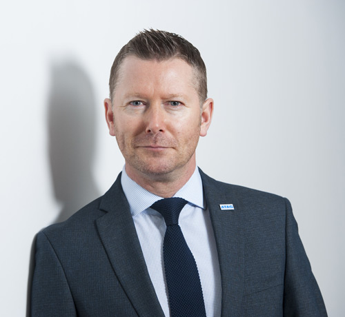 Andrew Crown, managing director of ATAG Heating Technology UK