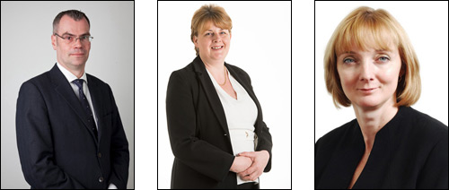 From left to right: FMB - Brian Berry | Conergy - Cindy Pooler | CPA - Dr Diana Montgomery