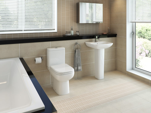 RAK has an extensive portfolio of tiles, sanitaryware and sinks.