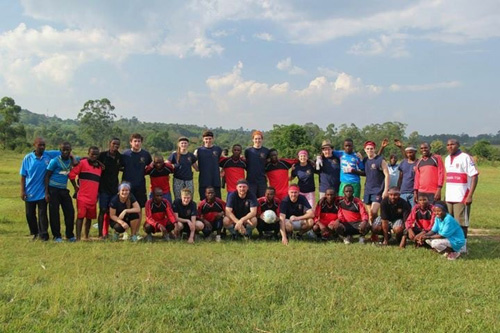 One other charity recently supported by Ideal staff is Team Uganda. Former Ideal employee, Andy Robinson, travelled to Uganda recently with pupils from Hull Collegiate School, to support the Great Lakes High School in Uganda.
