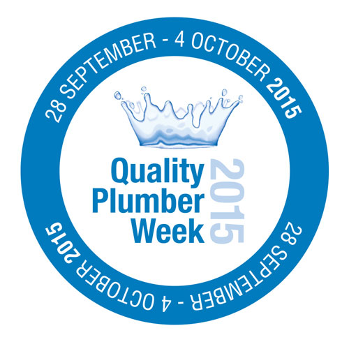 The Quality Plumber Week 2015 logo.