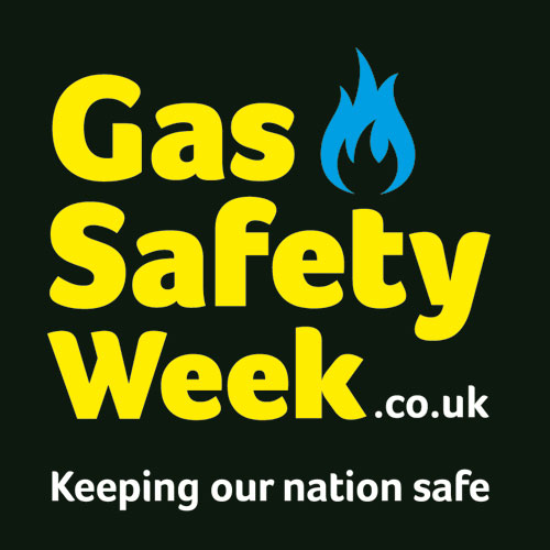 Image: The Gas Safety Week logo.