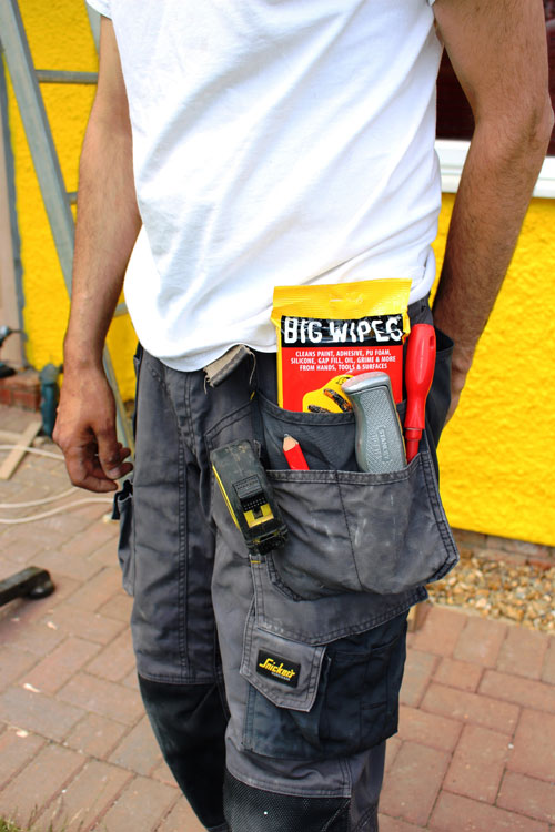Big Wipes sachet packs