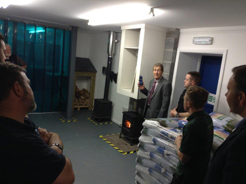 Pellet stove installation training course