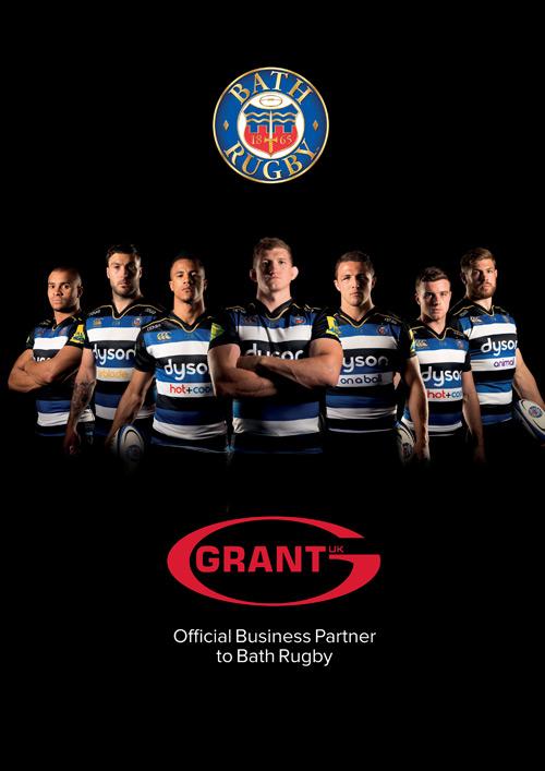 Grant & Bath Rugby Portrait