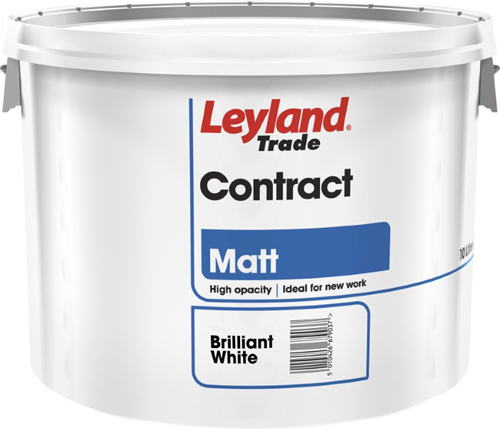 10L tub of Leyland trade paint, featured in Toolstation catalogue at only £14.88.