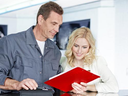 Ariston engineer providing 24 hour service to customer