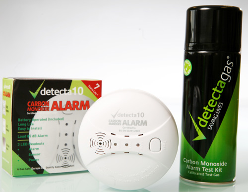 deteca gas alarm test kit