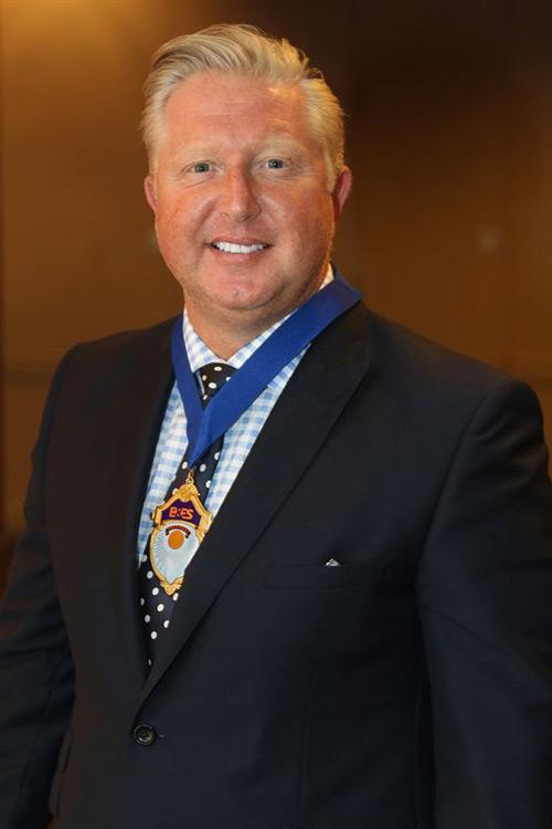 Jim Marner, B&ES president