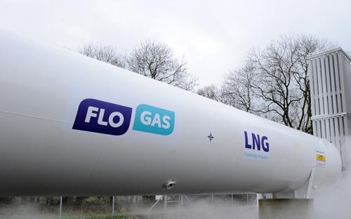 Flogas LNG tanker