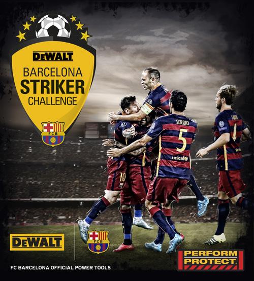 DEWALT Barcelona striker challenge