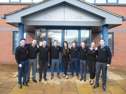 The new Stelrad Brand Specialists team
