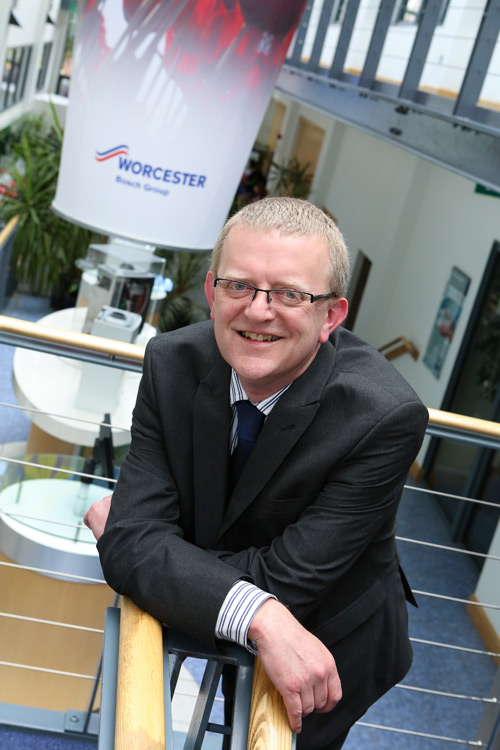 Martyn Bridges, director of marketing and technical support at Worcester