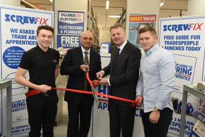 Screwfix releases 'Your Guide to Hiring an Apprentice'