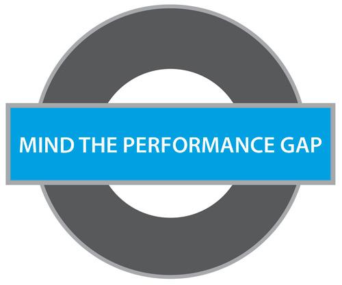 'Mind the performance gap'