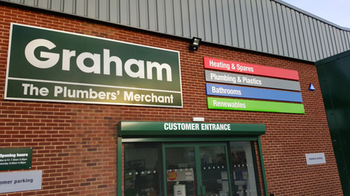 Graham Plumbers' Merchant invests in new branches