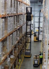 Altecnic's warehouse in Stafford
