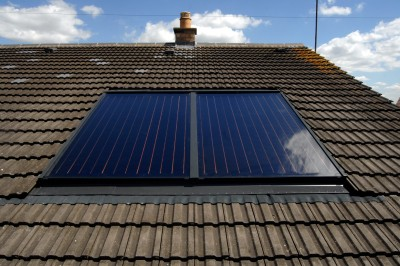Solar panels will be subject to just five per cent VAT. Pic courtesy of Vokera