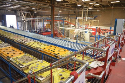 MX Group shower tray factory in Tewkesbury