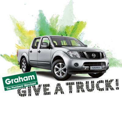 Win a Nissan Navara with the Graham give a Truck competition