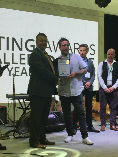 Dennis Hollingworth is the first UK Heating Installer of the Year