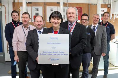 Worcester strengthens ties with Darlington College