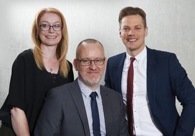 Louise, David and Ben