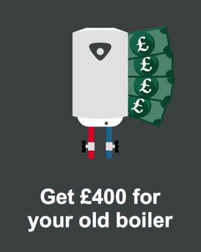 London boiler cashback scheme