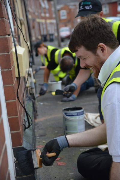 Vaillant joins forces with Derby Homes and Derby City Council to help clean up Derby