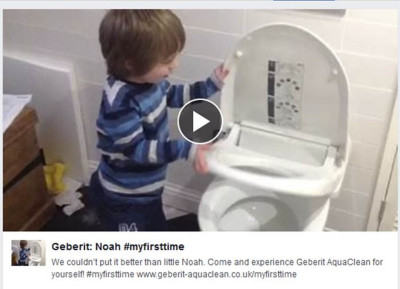 Noah's video has gone viral with over 330,000 views.