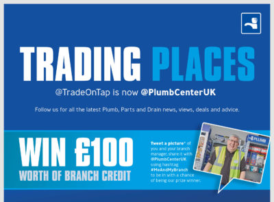 New Twitter handle for Plumb and Parts Center
