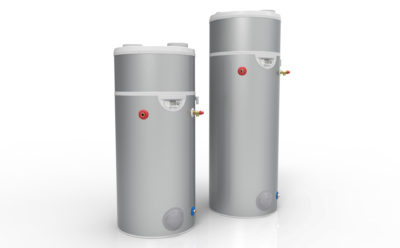 Edel floor standing heat pump cylinders solus