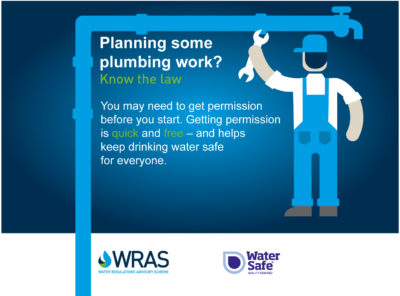 Planning some plumbing work? You may need permission before you start.