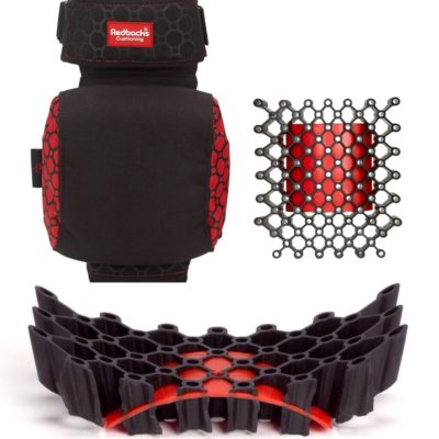Redbacks' strapped kneepads