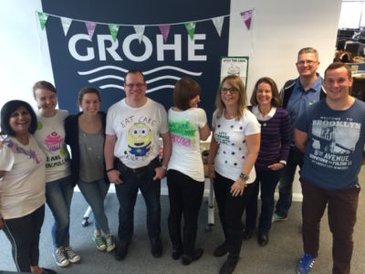 GROHE Macmillan coffee morning