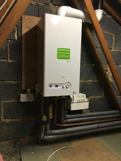 Vokèra boiler installed in newly adapted home to help accommodate for five-year-old Molly's needs.