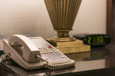 : Is this the end of the trustee landline and alarm clock?