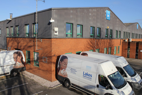 Lake Bathrooms opens new warehouse and expands fleet of delivery vehicles