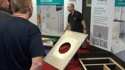 Impey has announced its 2017 wetroom training dates