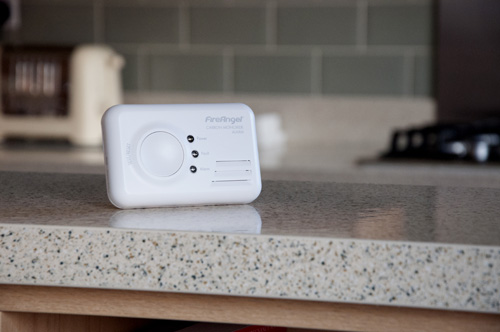 Fitting a CO alarm can save lives.