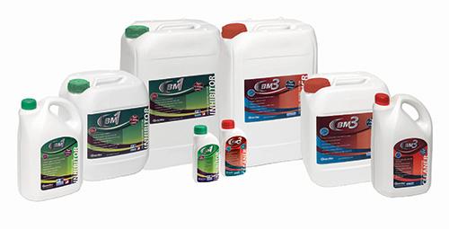 BoilerMag's chemical range