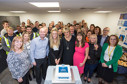The Lakes team celebrate 30 years.