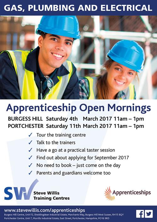 Apprenticeship open day