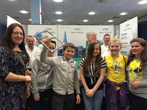Doncaster students at the 2016 Teen Tech Roadshow.
