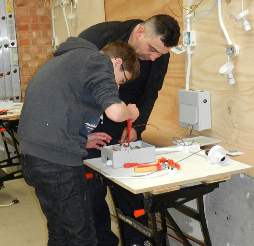 Engineers of the future at apprenticeship open mornings