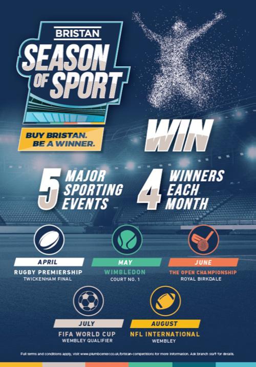 Bristan's 'Season of Sport'