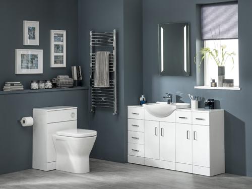 Alaska bathroom furniture from Essential Bathrooms
