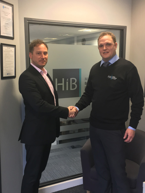 Richard Chmiel with sales director, Ash Chilver